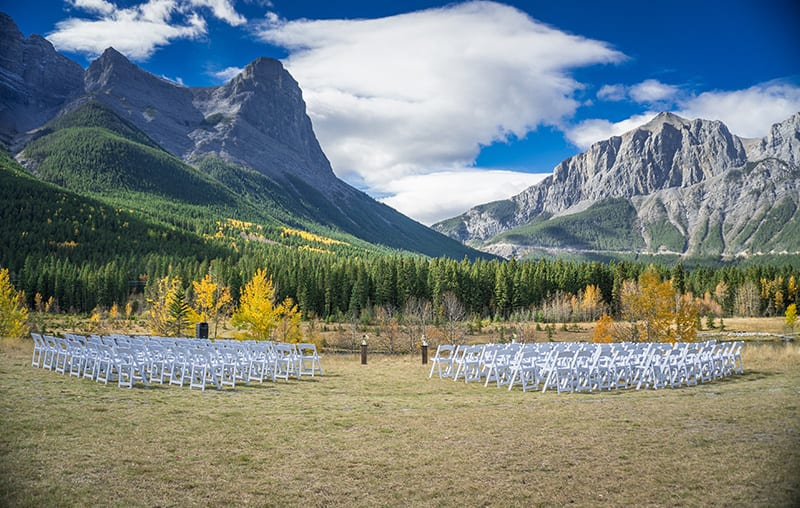 Canmore Outdoor Weddings