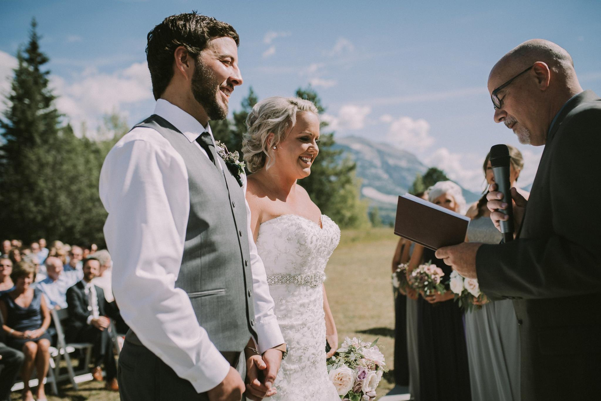 popular outdoor wedding ceremony sites canmore