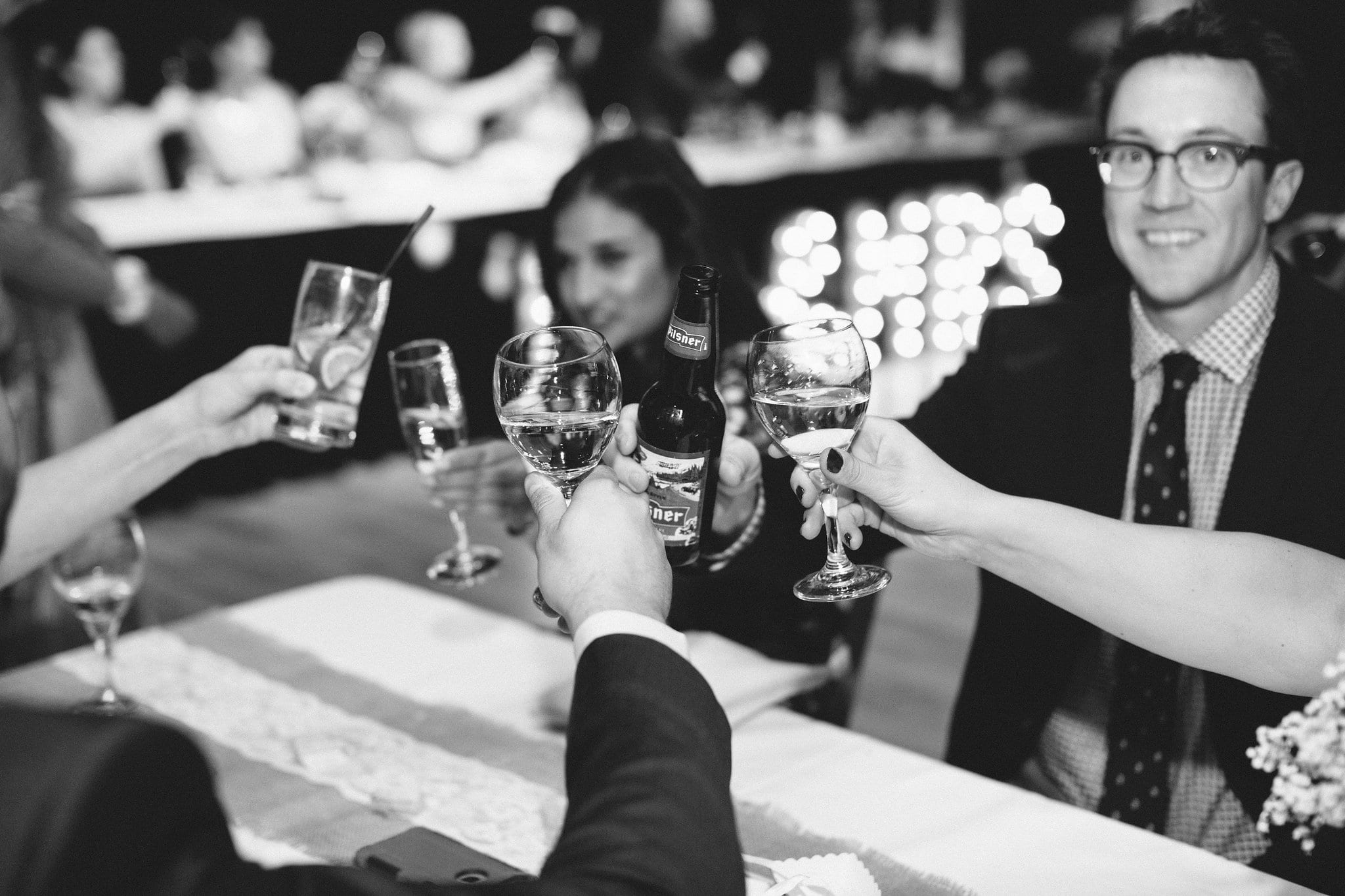 Cheers - Photo credit Heart & Sparrow Photography