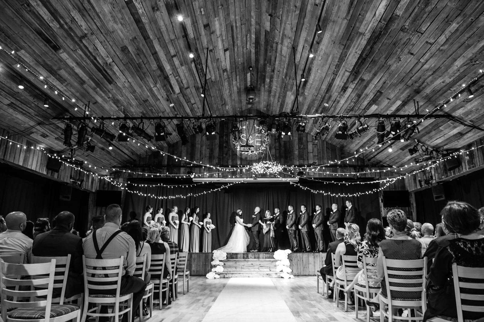 Indoor Ceremony-Photo Credit CristaLee Photograhy