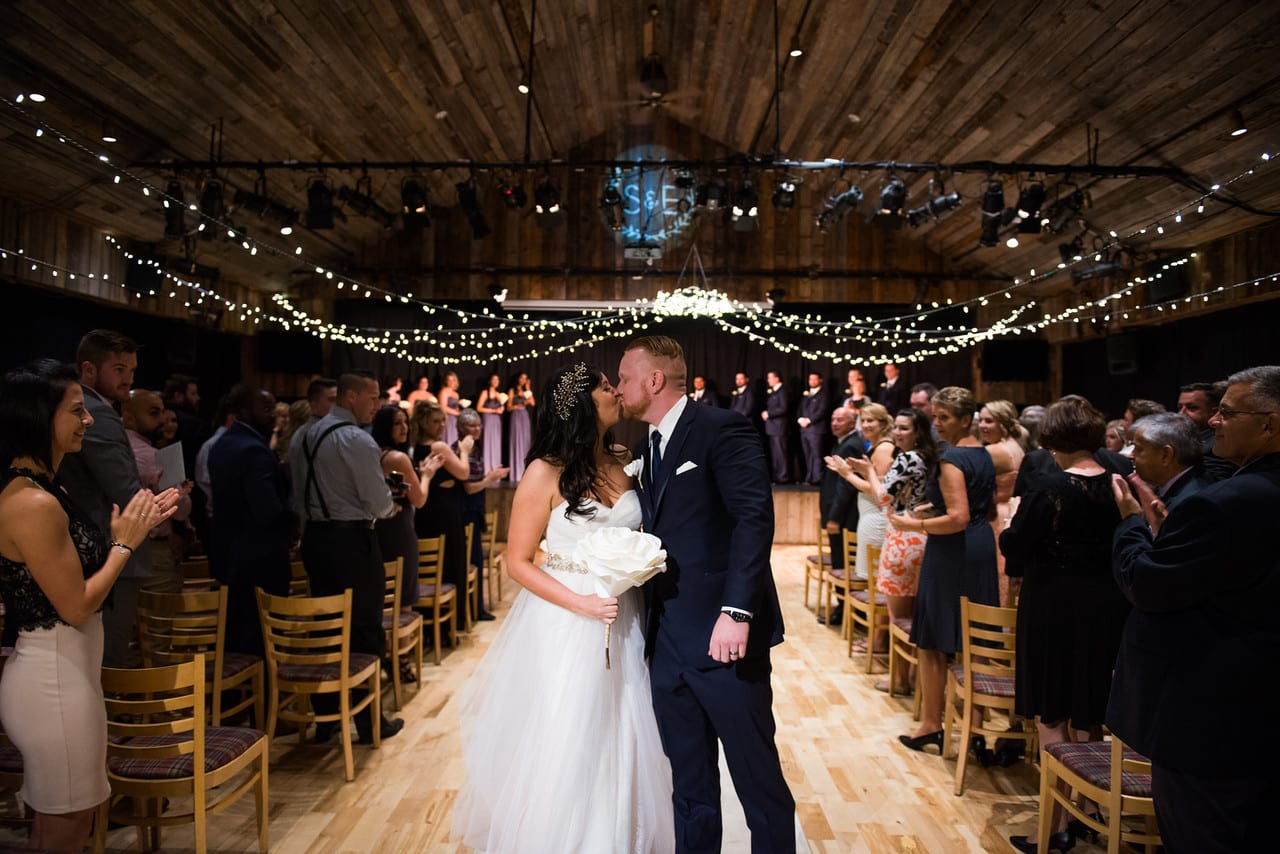 Indoor ceremony - Photo credit CristaLee Photography