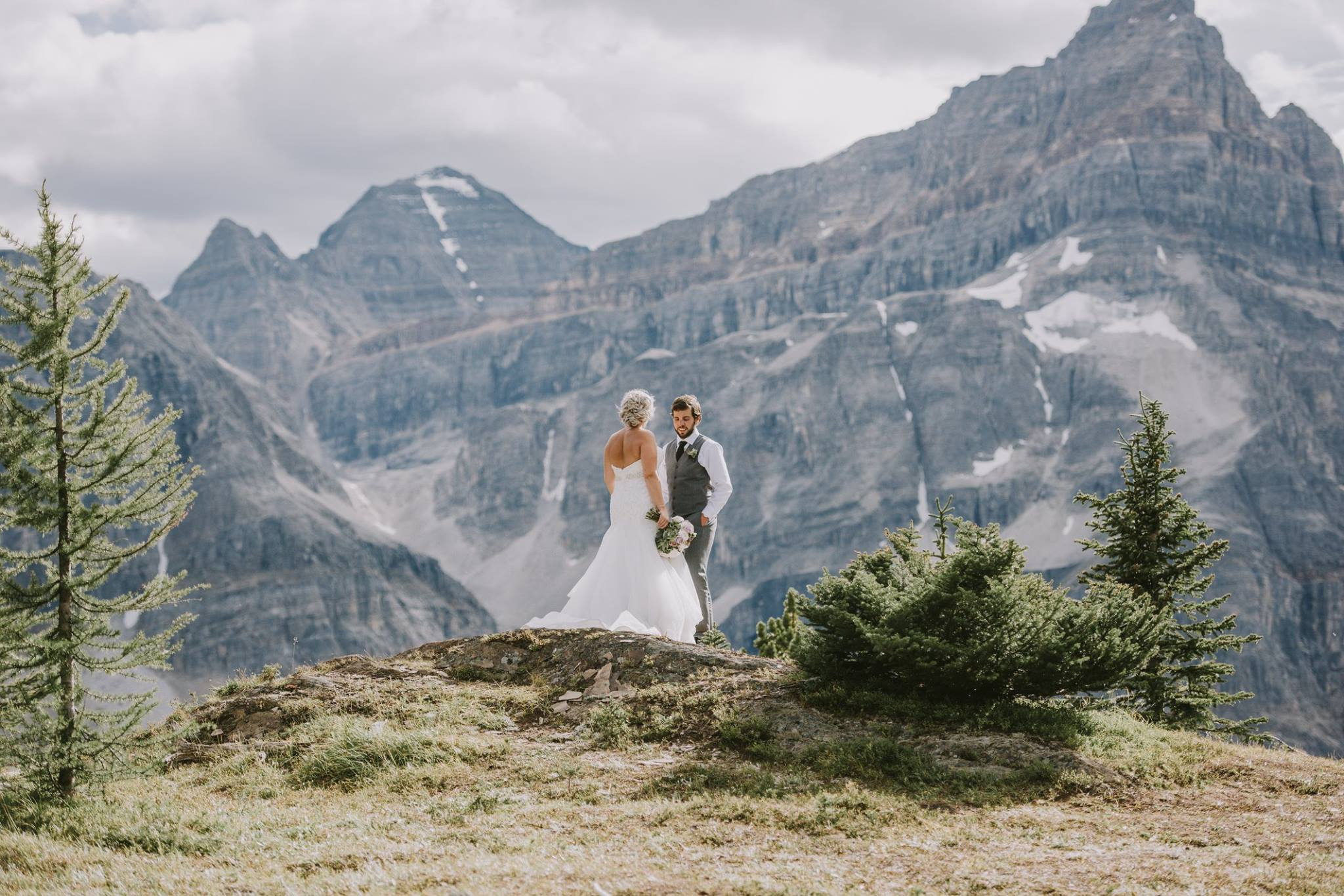 Alberta Outdoor Wedding Ceremony