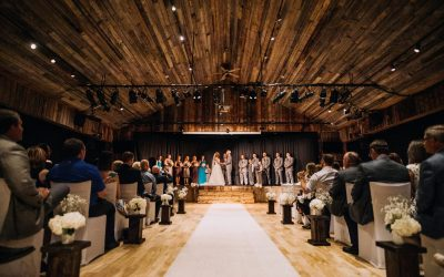 Rustic Weddings With Cornerstone Theatre