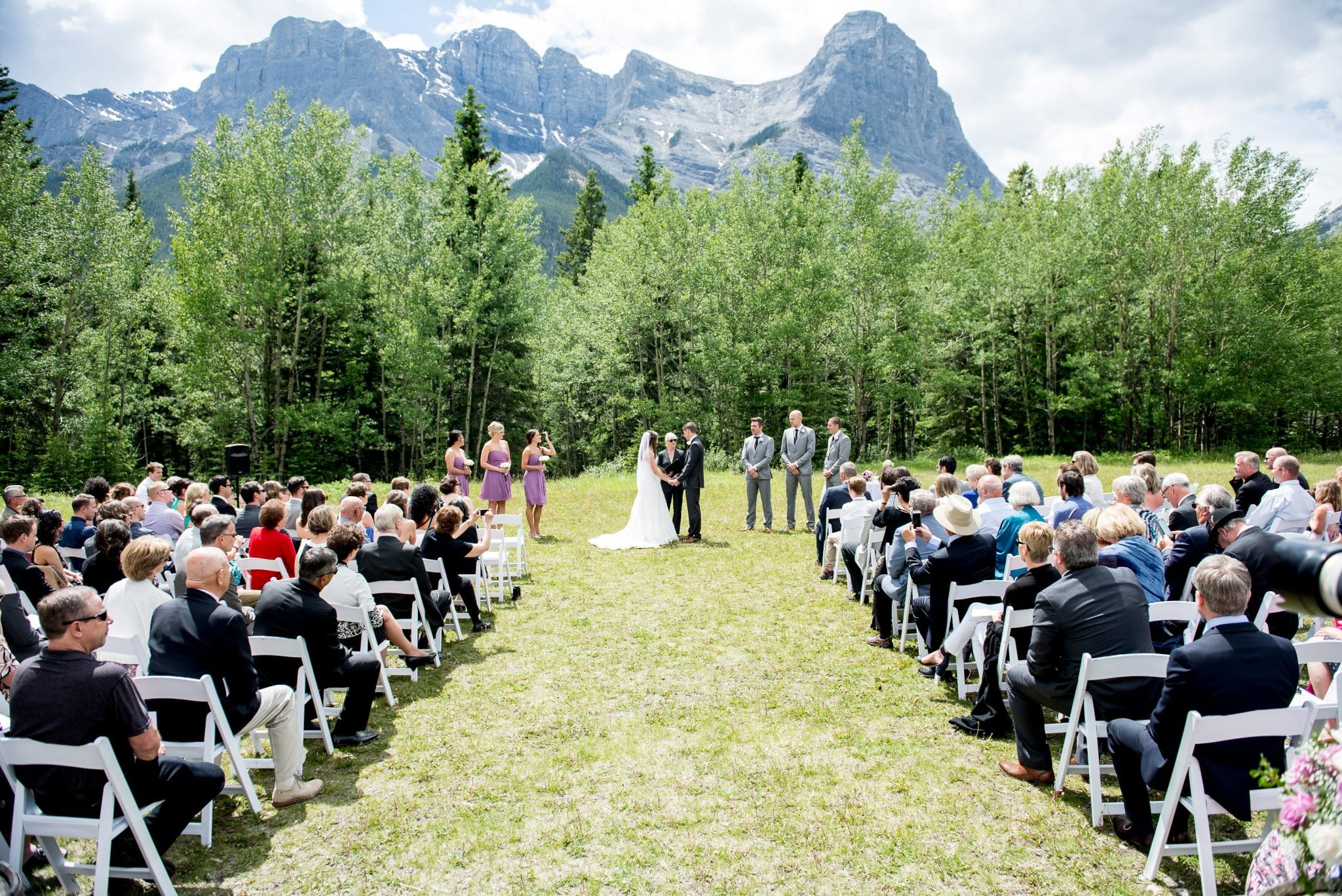 popular outdoor ceremony sites canmore
