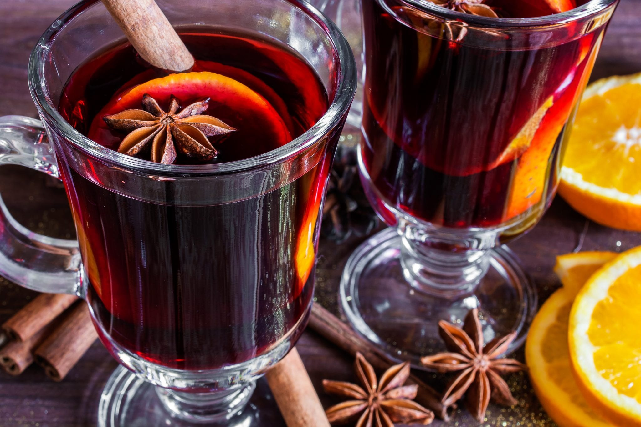 Mulled wine bar wedding