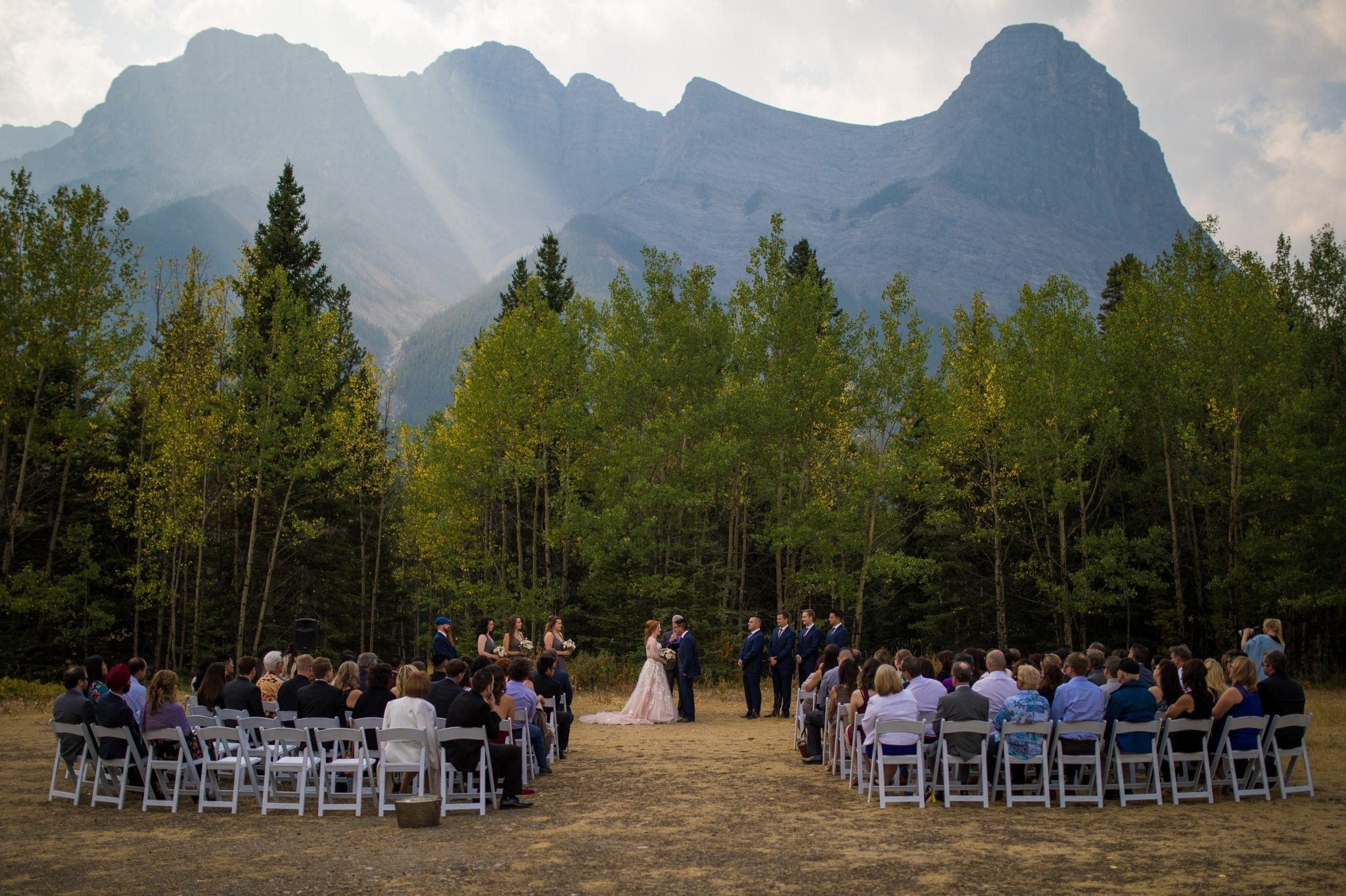 rocky mountain outdoor weddings