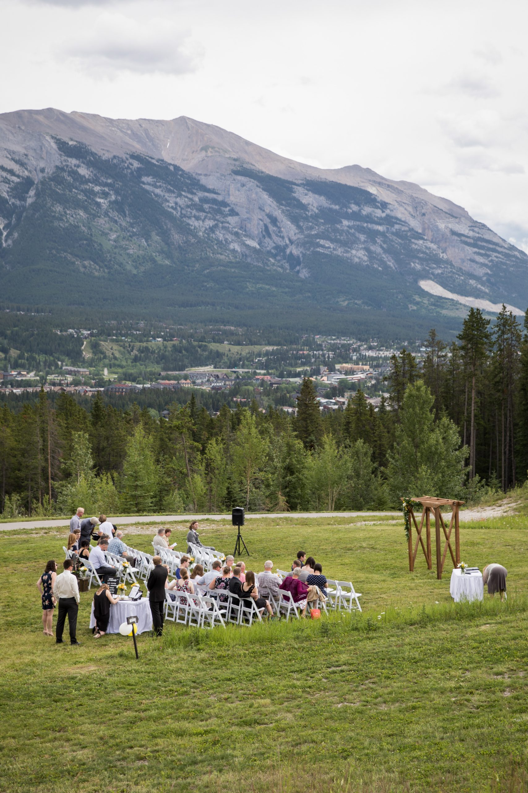 outdoor wedding venues canmore