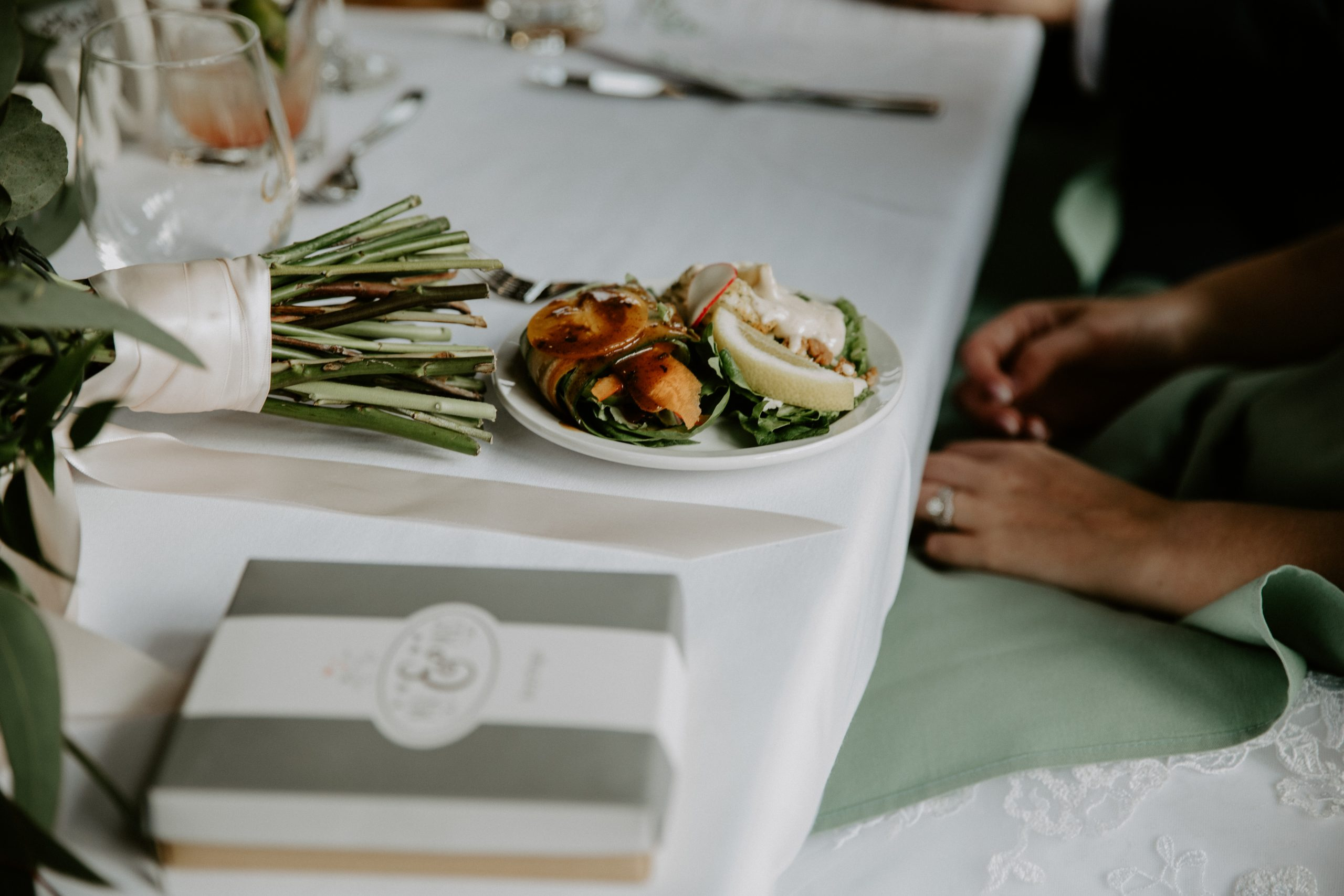 wedding catering canmore